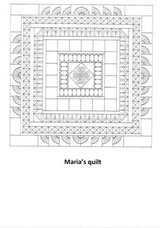 The Forgotten Seamstress book - Maria's quilt