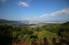 Kyoto landscape - Searching the monkeys, and we also find a stunning view of Kyoto!