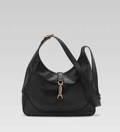 "Gucci bags and Gucci handbags 277520 1000 ""jackie"" medium shoulder bag 270 Gucci Jackie Bag, Black Gucci Purse, Gucci Bags Outlet, Chanel Online, Image Fashion, Gucci Purses, Leather Bags Handmade, Vintage Purses, Chanel Handbags"