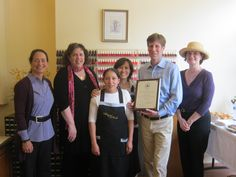 Staff of Angel's Nails celebrates its 10th Anniversary with local officials