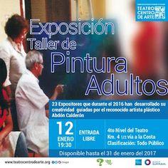 EXPOSICIÓN DEL TALLER DE PINTURAS ADULTOS
