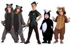 peter pan and lost boys costumes Peter Pan Halloween Costumes, Peter Pan Costume Kids, Lost Boys Costume, Kids Costumes Girls, Boy Costumes, Costume Ideas, Peter Pan Kostüm, Lost Boys Peter Pan, Peter Pans