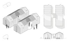 provisional permanence civic spaces refugee camps designboom