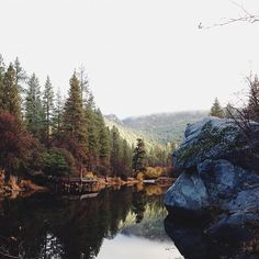 Lake Fulmor, California by kevinrussmobile, via Flickr
