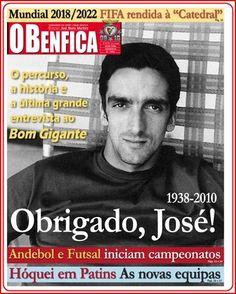"""Jornal O Benfica - O """"Adeus"""" a José Torres, o """"Bom Gigante""""."""