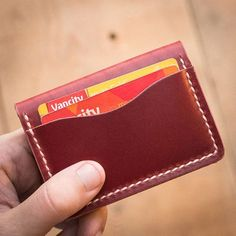 Our refreshed 5 and 4 card bifold designs are now LIVE on our website! Available in cherry, burgundy, black, tan and driftwood.