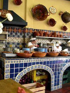 1000 images about colonial on pinterest paisajes - Cocinas estilo colonial ...