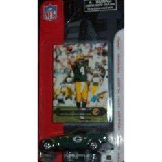 Green Bay Packers NFL Diecast 2002 Chrysler Howler with Brett Favre Fleer Trading Card by Fleer  $10.09