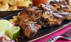 Classic island dishes such as braised oxtails, jerk chicken, and curried goat