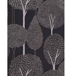 Buy Harlequin Silhouette Wallpaper, 60117, Silver online at JohnLewis.com - John Lewis