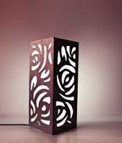 Resultado de imagen para mdf lamps Kirigami, Custom Metal Art, Bamboo Light, Cnc Wood, 3d Wall Panels, Night Lamps, Lamp Shades, Lamp Light, Desk Lamp