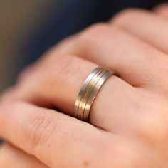 This Simple Niobium Ring is hand crafted to be the perfect