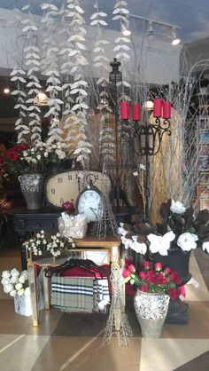 Valentine's Day 2013 Display. Lexington Floral, Shoreview, MN.  #Store Displays #Gift Shop #Gift Shop Displays #Home Decor