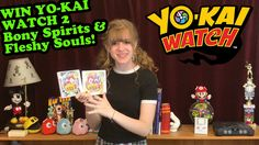 YES! It's TRUE! 3 Winners can win BOTH #YoKaiWatch 2 Bony Spirits AND Fleshy Souls (parents...that's both version of the new game) for the @nintendo 3DS Watch the video for deets!