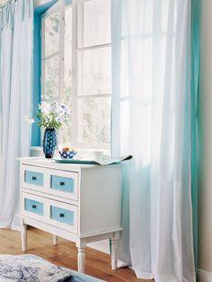 vorhang carmaux beige, blau, braun, terracotta, türkis, weinrot, Wohnzimmer dekoo