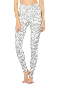 ∞ High-Waist Airbrush Legging - Palm Springs Neutral at ALO Yoga