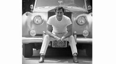 American actor Tony Curtis (1925 - 2010) with his Rolls Royce, Los Angeles, California, 1961. (Photo... - Time Life Pictures/Getty Images