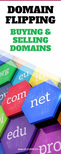 In-depth guide on buying and selling domains for a profit, also called domain flipping. Start Up Business, Starting A Business, Way To Make Money, Make Money Online, Startup Business Plan Template, Home Based Business Opportunities, Business Ideas, Web Domain, Over It Quotes