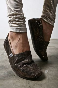 bronze glitter toms more bronze glitter dream style footwear glitter ...