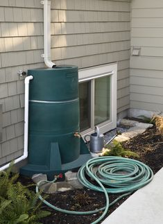 custom built vancouver home rainwater collection