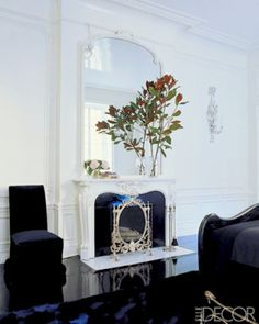 Decorative Fireplace Unfunctional Decor Small Space Living Room