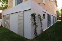 Celosía con lama de metal / de fachada / ajustable Lamas orientables aluminio Tamiluz