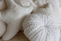 love these chenille pillows