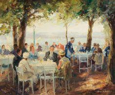 Bid Live on Lot 1199 in the Century Paintings Auction from Dorotheum. Vintage Artwork, Winter Landscape, Figure Painting, Art Gallery, Master Art, German, Paintings, Coffee, Disney