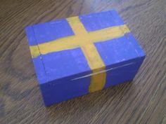 Purple treasury box by KranzGeriShop on Etsy