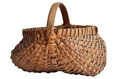 Split   Oak   Basket on OneKingsLane.com