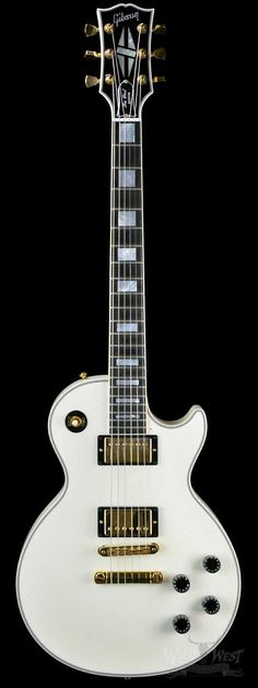 2010 Gibson Les Paul Custom in Alpine White