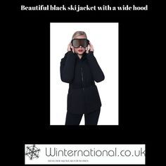 A warm, long ski jacket with stretch belt is just the thing you need to keep you cosy and stylish on the slopes. Black Ski Jacket, Ski Jackets, Ski Wear, Stretch Belt, Winter 2017, Cosy, Skiing, Warm, Boutique