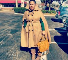 GarnerStyle | The Curvy Girl Guide: Cape Me Away!