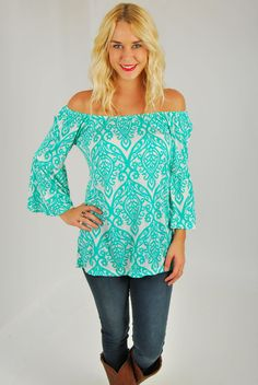 Mint Julep Tunic or Top