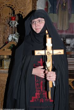 Mother Christonymfi, the Abbess of St. Stephen's Holy Monastery Nuns Habits, Saint Stephen, Orthodox Christianity, Godly Woman, Roman Catholic, Religion, Faith, Female, Celebrities