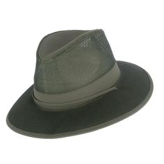 4916459a9f6f6 Kenny K Men s Lightweight Mesh Safari Hat with Chin Cord