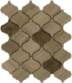 Maniscalco Stone - Marble - Graystone - Mosaics The Glass Menagerie, Tub Surround, Decorative Tile, Tile Ideas, Arabesque, Suzy, Kitchen Backsplash, Barn Wood, Mosaics