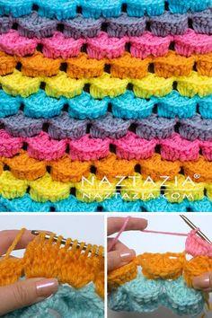 Crochet Stitch Crochet Stitch,Muster Crochet Stitch – Naztazia ® Related posts:Domo collection Wohnlandschaft Domo Polstermöbel - Diy home decorA simple and tidy headboard - IKEA Hackers - Diy home decorDIY WindMill. Stitch Crochet, Crochet Diy, Crochet Crafts, Yarn Crafts, Crochet Projects, Tunisian Crochet, Diy Crafts, Crochet Hook Sizes, Crochet Hooks