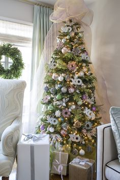 Emily Ruddo Design. XO Christmas tree