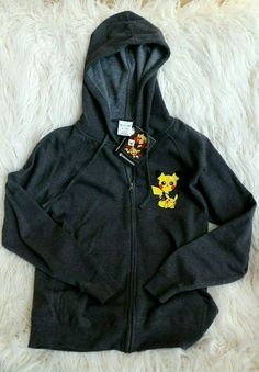 8ad3ad6471 NEW Pokemon Center Exploring With Pikachu Hoodie Adult Unisex Fitted Small S   fashion  clothing