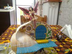Fairy seashell house