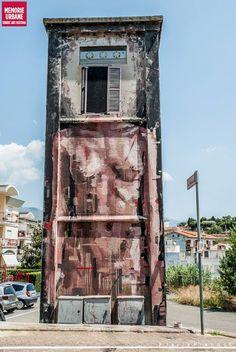 Borondo New Street Pieces In Gaeta, Italy