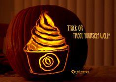 Trick or Treat Yourself Well®    #redmango #halloween