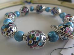 Handmade For You HandsFree Beaded Bracelet by JewelsHandmadeForYou