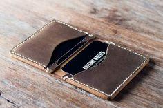 Portafogli portafoglio in pelle portafoglio Mens di JooJoobs