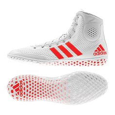 Legend KO Adidas 16.2 Mens botas Boxing mujer blanco zapatos