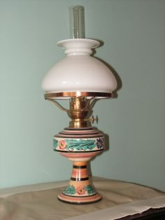 Small Souvenir Table Lamp By Lithgow Lamps Nsw