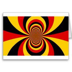 I love Germany Cards I love Germany Greeting Card Horizontal Template