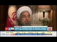 """In an interview with CNN's Fareed Zakaria, Iranian President Hassan Rouhani forcefully asserted that Iran would not destroy its nuclear centrifuges """"under any circumstances"""".More information visit http://www.newsslinger.com/."""