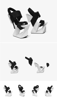 Ice Shoes | United Nude new 3D printed design for 3D Systems Cube Pro desktop printer